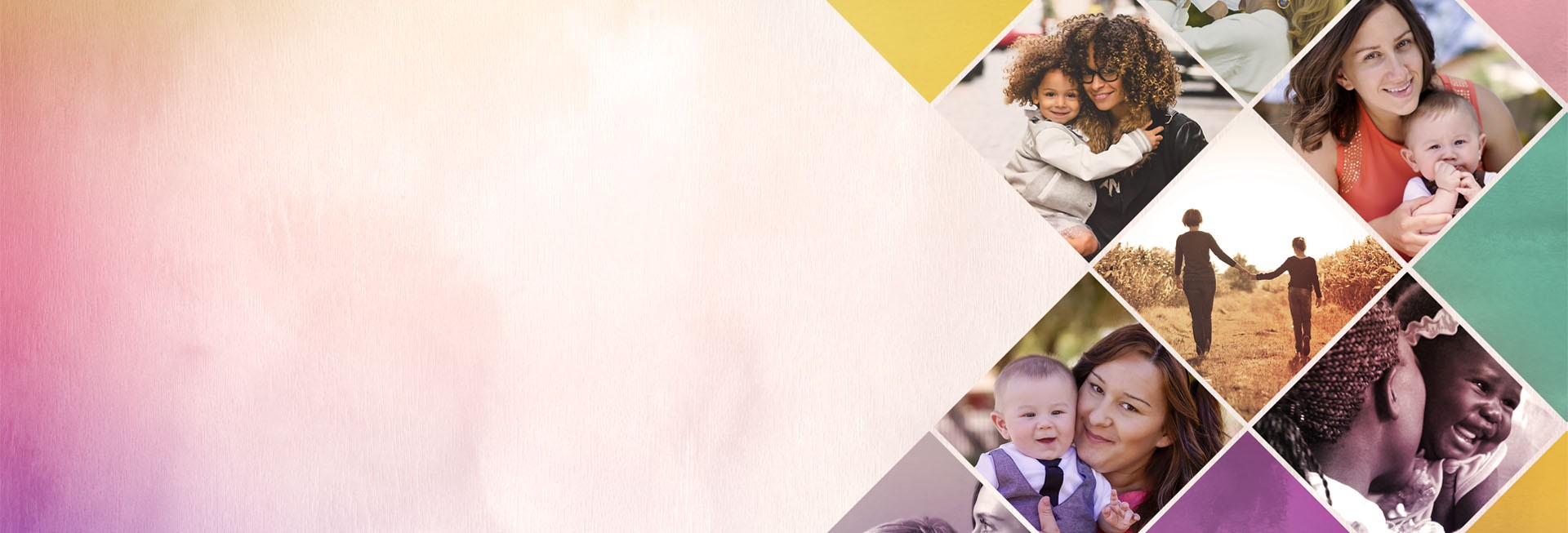 Celebrating Mother's Day Church Website Banner
